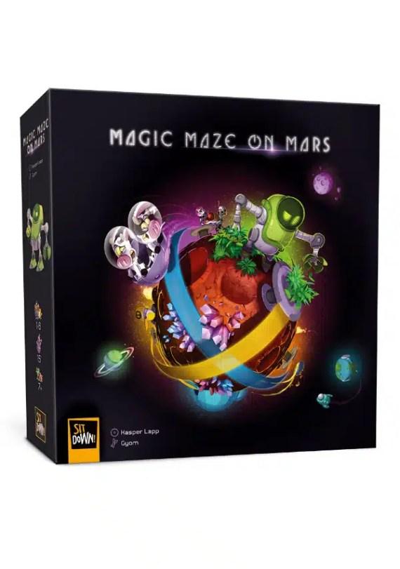 Magic maze en marte 1
