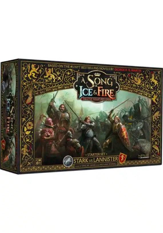 canción de hielo y fuego juego de miniaturas