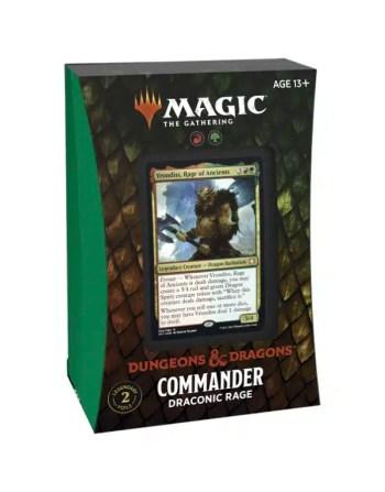 Commander D&D - Draconic Rage
