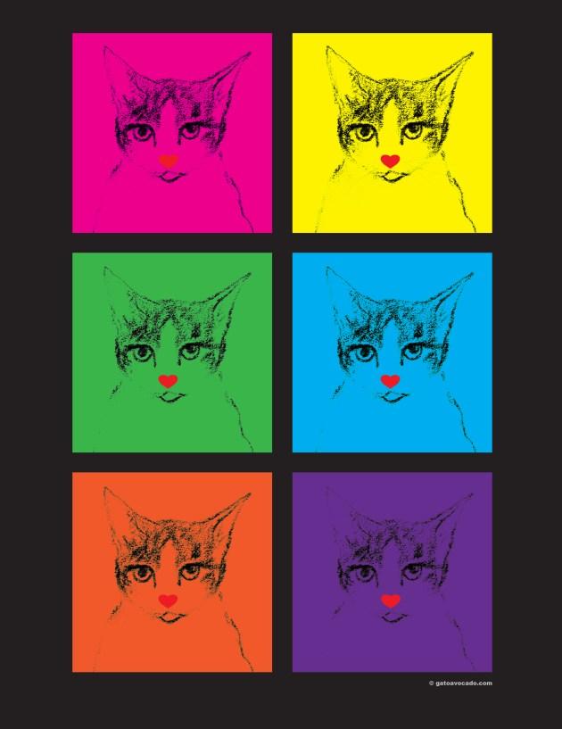 GA_Warhol Gato_Valentines