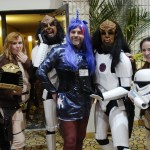 Twilight Sparkle, Klingon Stormtroopers, and Colonial Warriors.