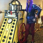 Twilight Sparkle and a Steampunk Dalek. Yes, we must be at a con. (MystiCon 2013)