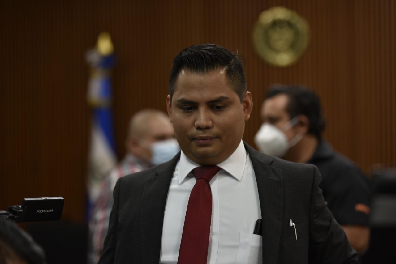 Alejandro Portillo, uno de los abogados de los atacantes a militantes del FMLN. Foto/Emerson Flores