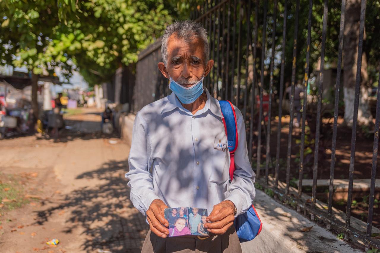 """""""Estuvo en Medicina Legal por más de 52 días y no me pudieron decir nada"""": abuelo de desaparecido en Chalchuapa"""