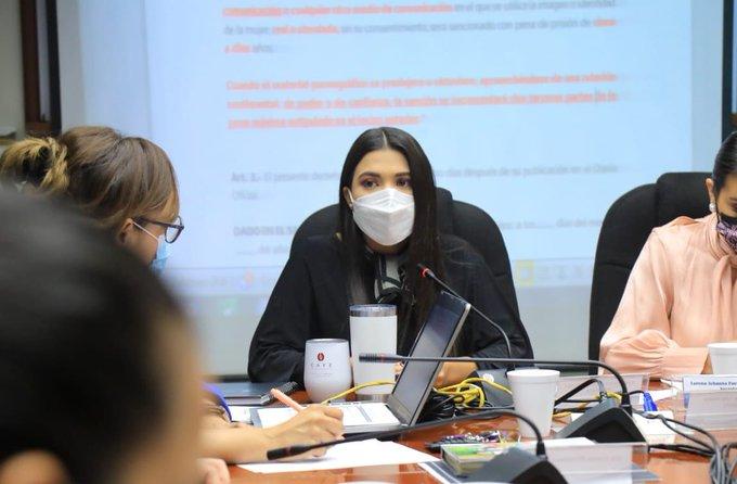 Diputadas de Nuevas Ideas rectifican propuesta de disminuir sanciones al delito de difusión pornográfica