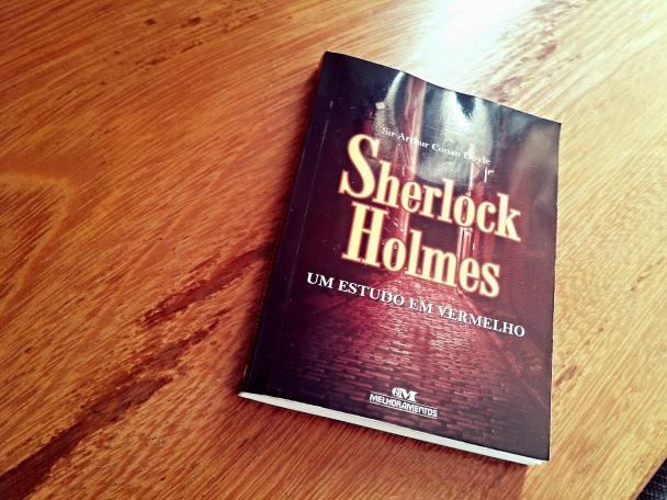 um estudo em vermelho - sherlock holmes - livro - resenha