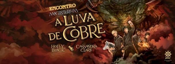Encontro de fãs de A Luva de Cobre (Magisterium Vol. 2) em Belém!