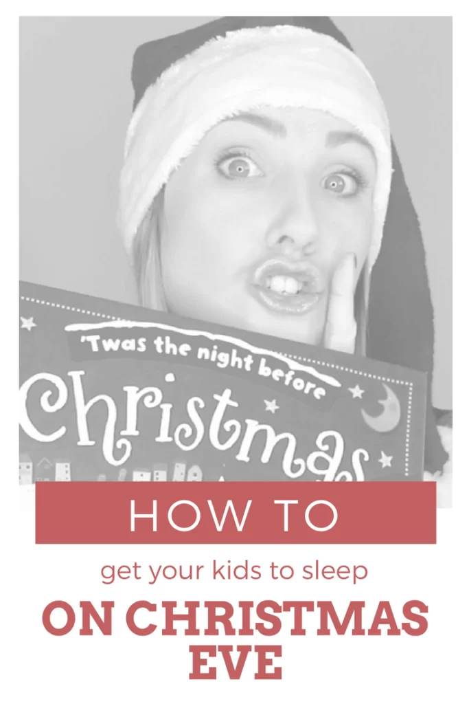 Since getting our kids in bed over the Christmas holidays can be a real pain in the nutcracker, here are some of my fave parenting hacks to help you out in the sleep department!