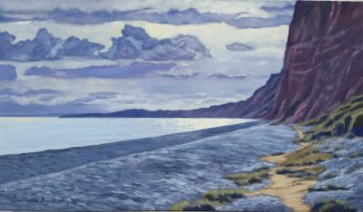 Budleigh Cliffs by Lawrence Dyer
