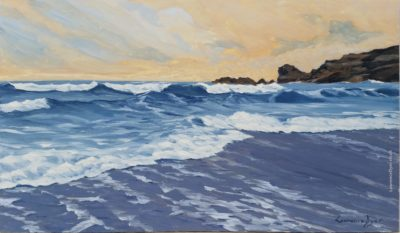 Crooklets Beach Bude by Lawrence Dyer