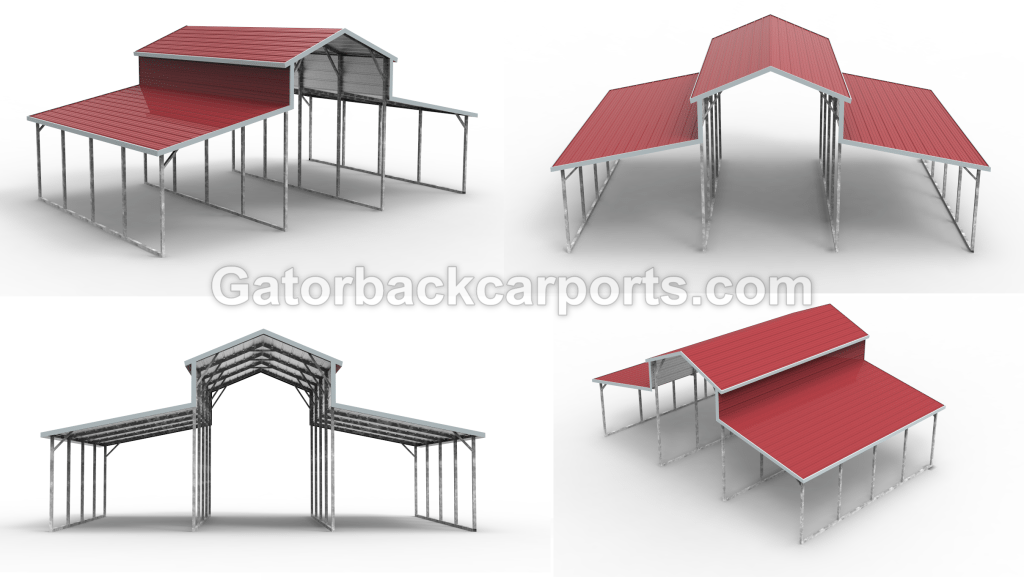 Louisiana Metal BarnsLA Gatorback CarPorts