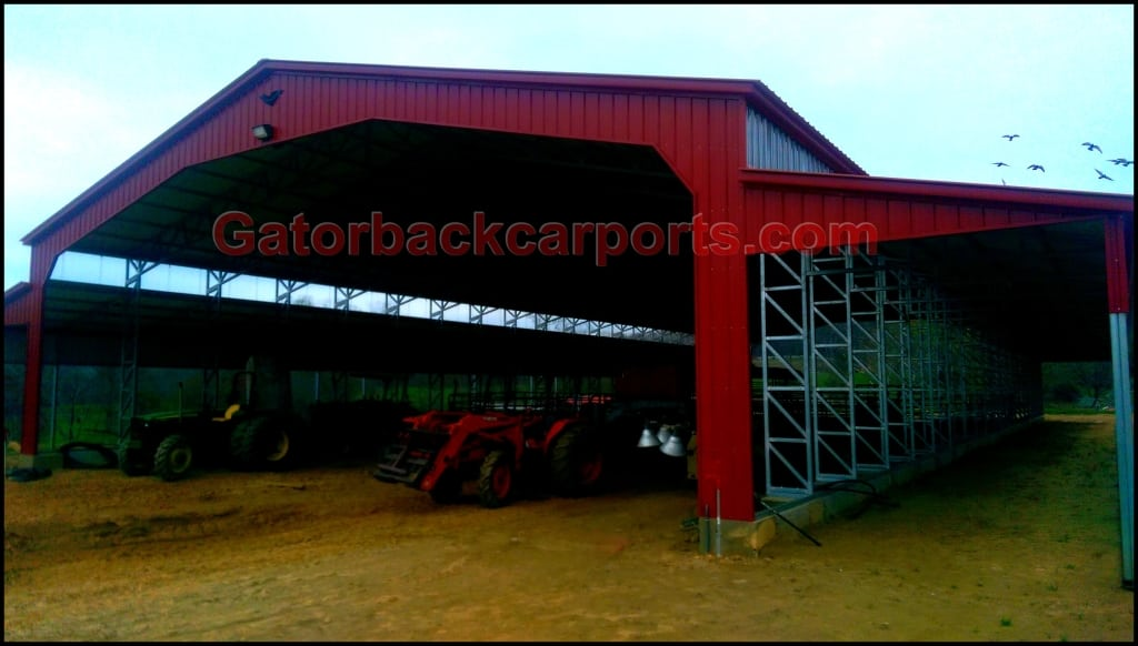 Commercial Metal Buildings Gatorback CarPorts