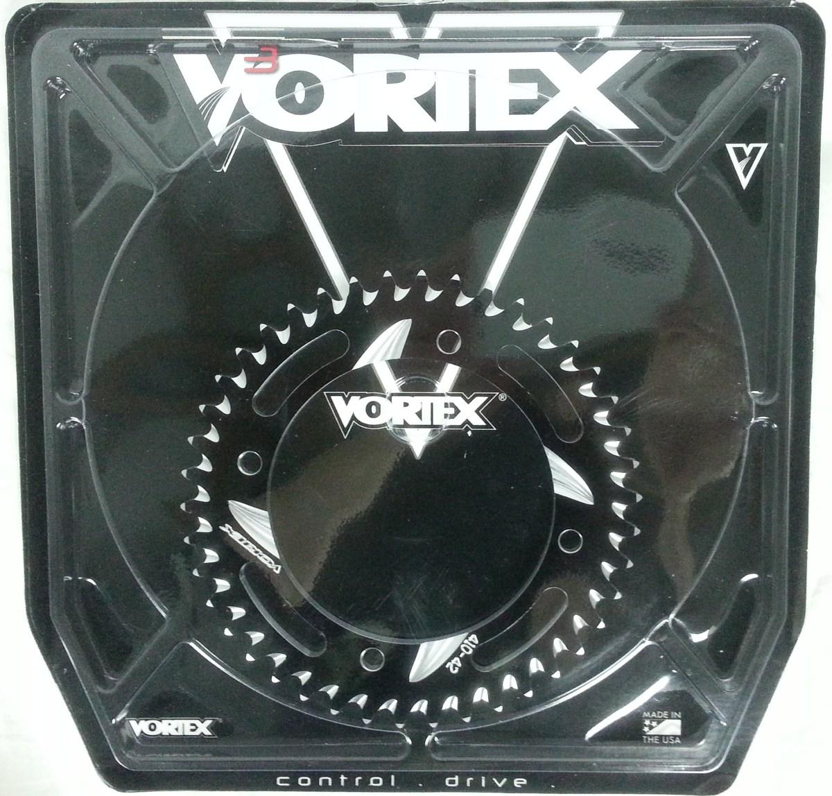 Vortex 410-55 Silver 55-Tooth Rear Sprocket
