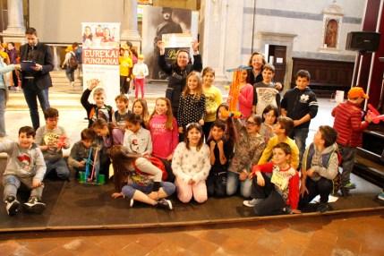 Primi classificati classi IV scuola Vera Vassalle di Viareggio