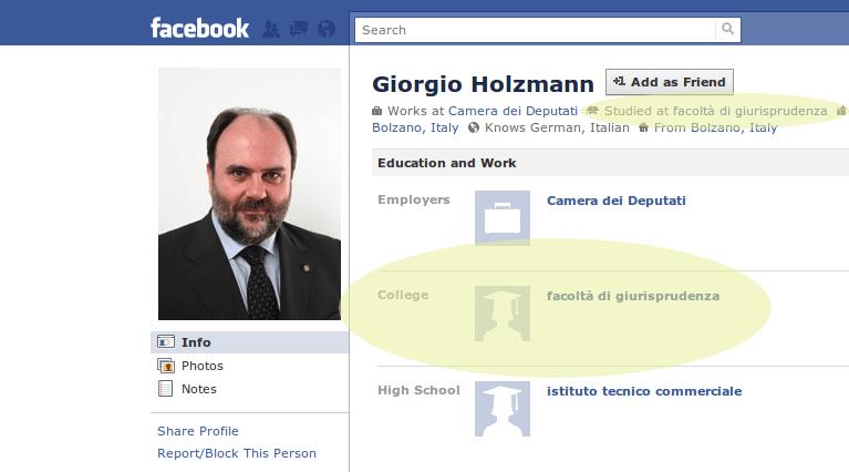 Cosa hanno in comune Michaela Biancofiore e Giorgio Holzmann? (4/4)