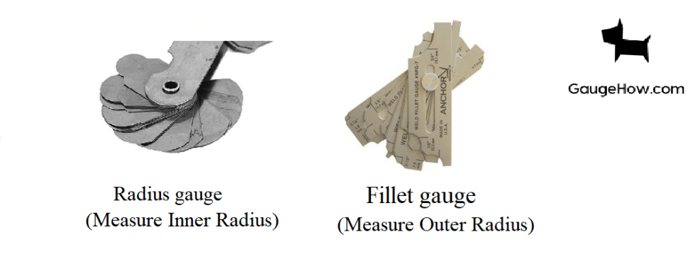 radius and fillet gauge