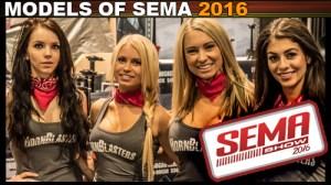 Hotties and Models SEMA 2016