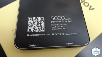 FOXNOV 5000mAh Power Bank Information