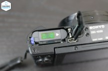 Battery and SD card compartment