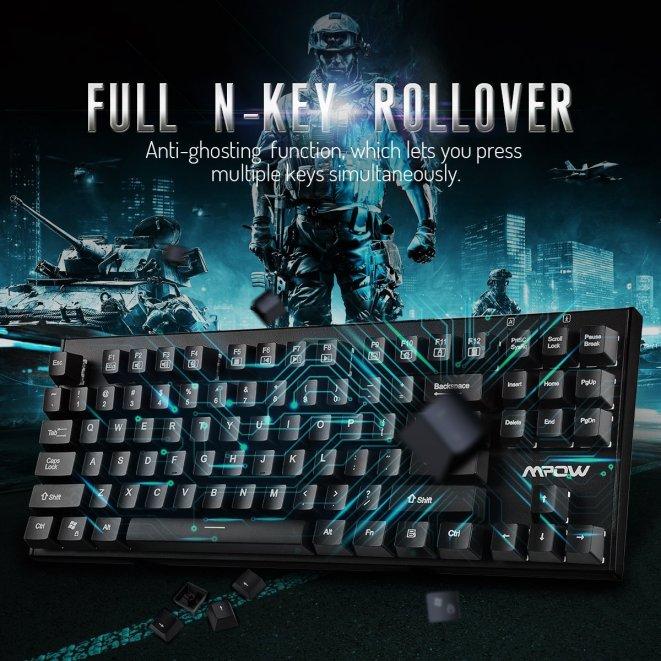 Mpow Mechanical Gaming Keyboard2