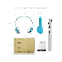 AUSDOM M07 On-Ear Headphones7