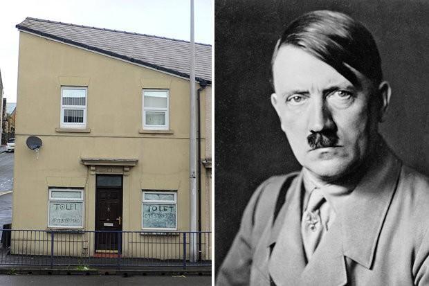 The House that looks like Hitler