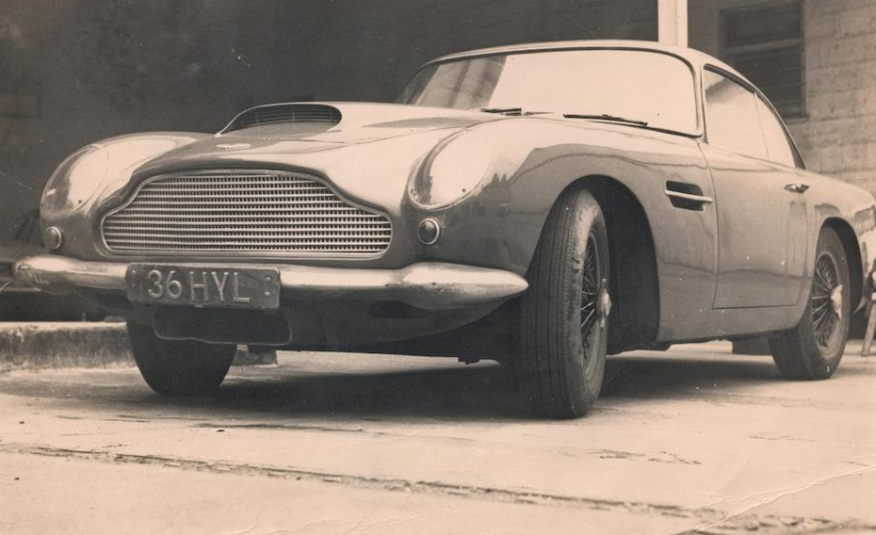 Aston Martin DB4GT Coupé Upcoming at Bonhams