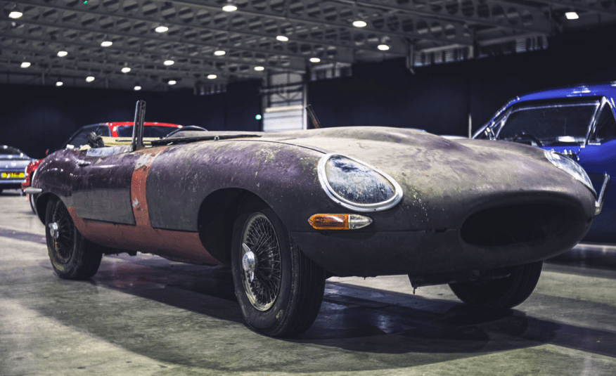 Jaguar E-Type 4.2 Series 1 with 2,805 miles from new at Silverstone Auctions