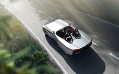 There's an Aura of driving the future with all-new lightweight British electric sports car launched at CENEX-LCV