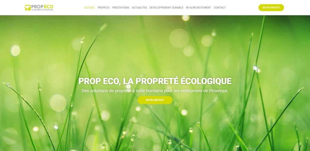 site web lPropeco réalisé par gault-web.fr
