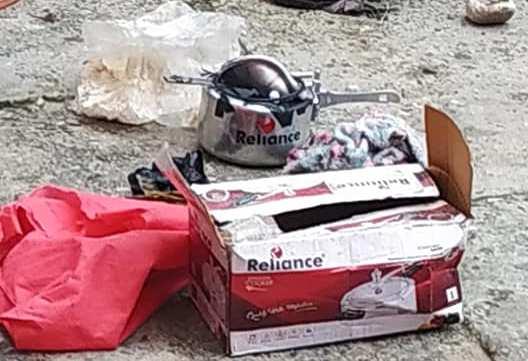 नेपाली सेनाले यसरी डिस्पोज गर्यो त्रियुगा नगरपालिकामा राखिएको प्रेसर कुकर (फोटो फिचर)