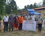 उदयपुर कोभिड अस्पताल बेल्टारलाई सेभ द चिल्ड्रेनको स्वास्थ्य सामाग्री सहयोग