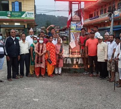 चौदण्डीगढीको बेल्टारमा मनाइयो संविधान दिवस