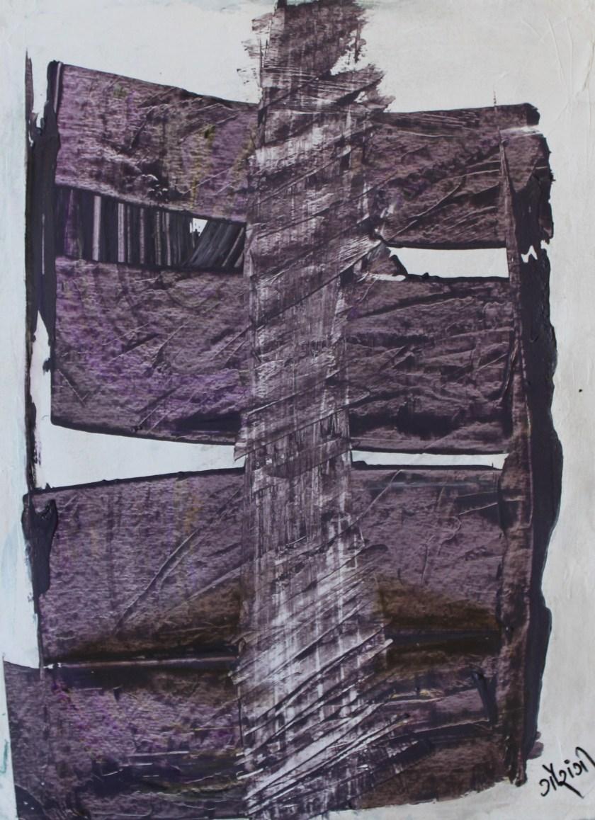 Title: Unmask please Medium: Acrylic on watercolour paper Size: 11.7*16.5 inches (2017) Artist: gaurangi mehta shah