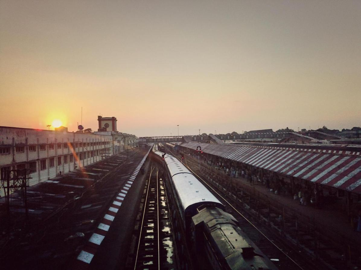 Gorakhpur Railway Station Upview