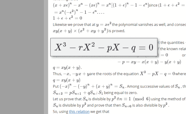 Screenshot -Applications of Complex Number Analysis to Divisibility Problems   Two Undergrad Problems   MY DIGITAL NOTEBOOK