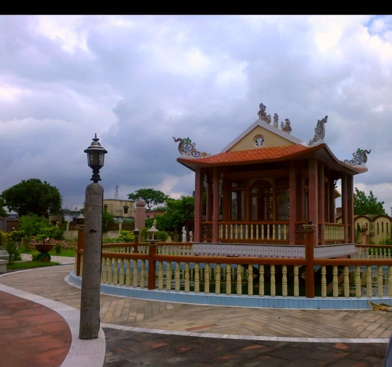 Another Temple in Kushinagar