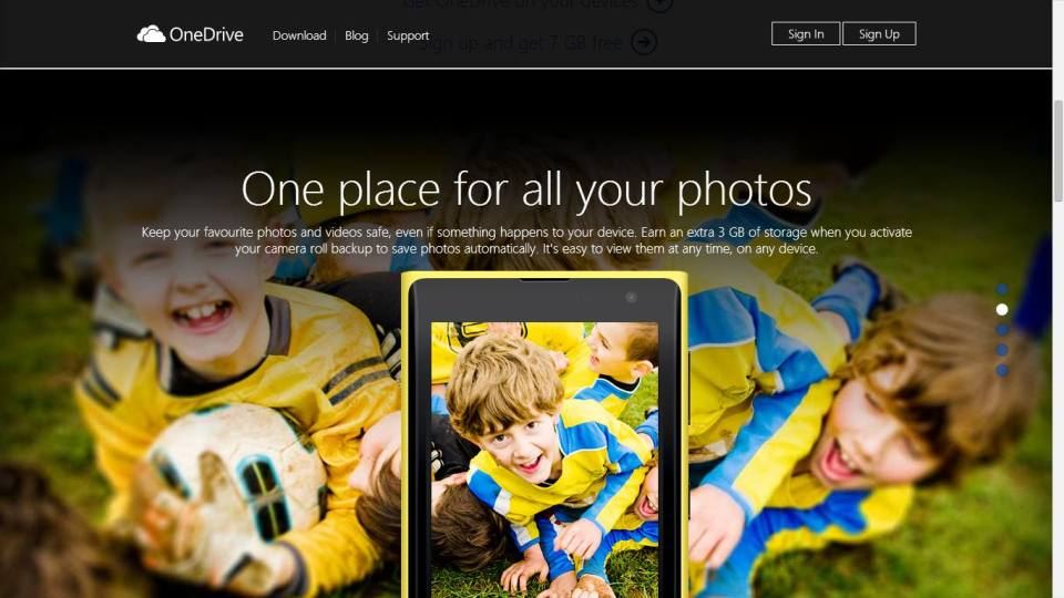 3GB Extra on OneDrive for Camera Roll