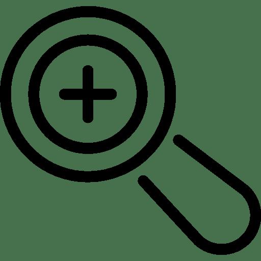 zoom-in-symbol