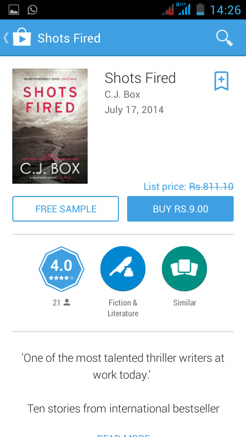 Google Play Books New