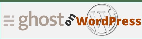 ghost on WordPress