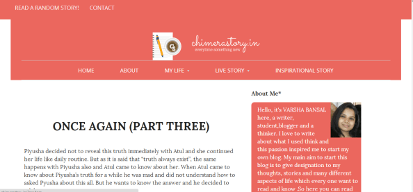 writ wordpress theme colored