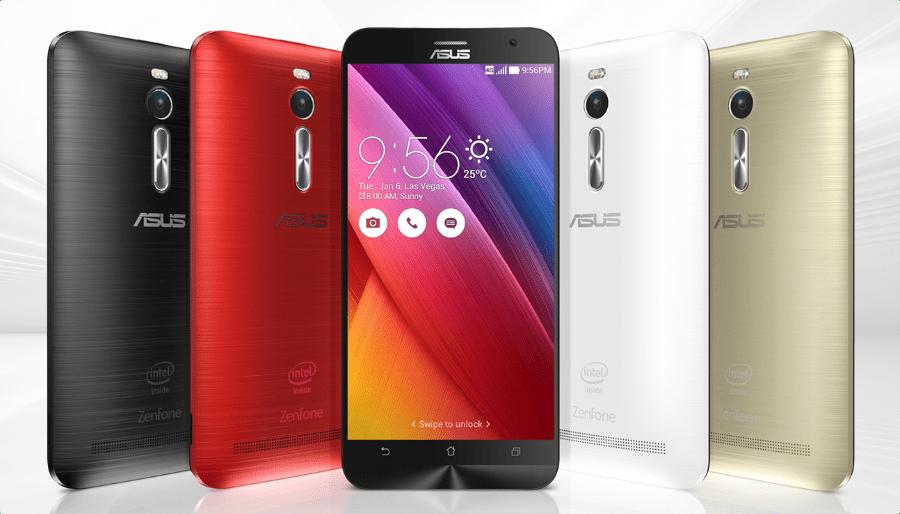 colors options for ZenFone 2