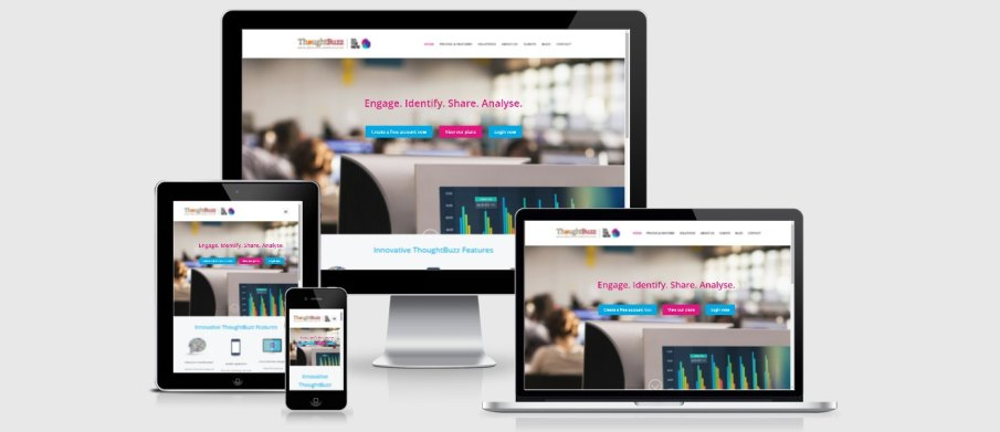 thoughtbuzz is responsive