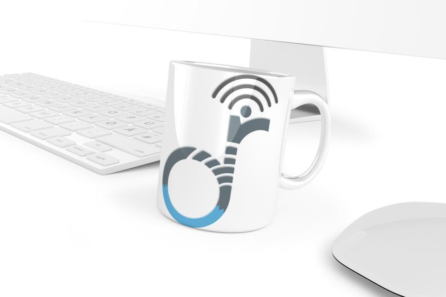 device radar mug