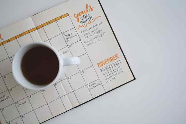Improve Organizational Skills with a planner