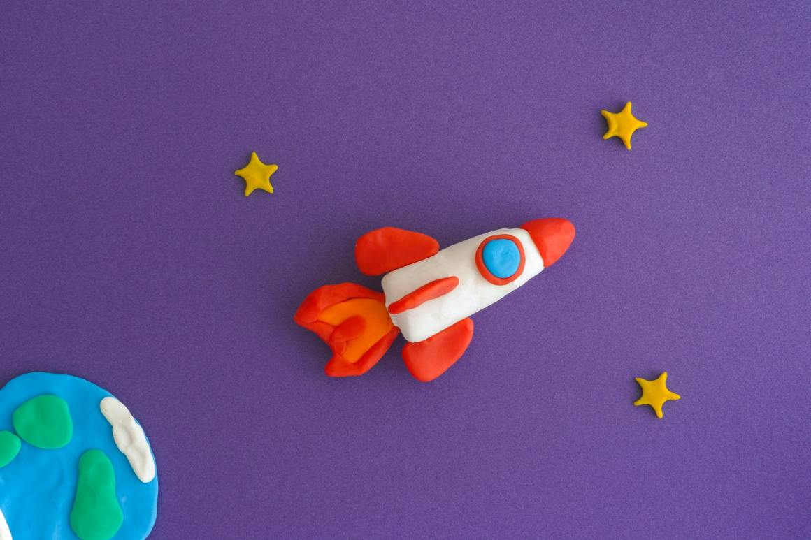 Space Rocket Blasting Off - Education Startups  Representative Image