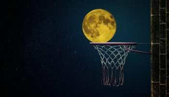moon, moonlight, night