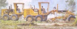 किसानों की मर्जी के बिना बरेली में धरती को रौंदती मशीन