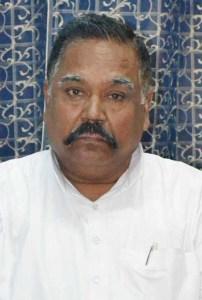 पूर्व स्वतंत्र प्रभार राज्यमंत्री भगवान सिंह शाक्य